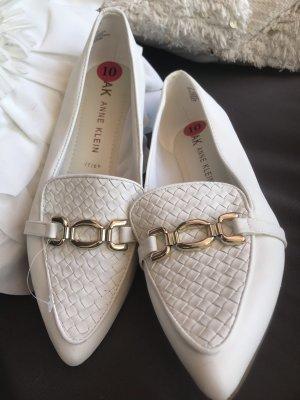 Anne Klein Damen Schuhe Halbschuhe weiß  40