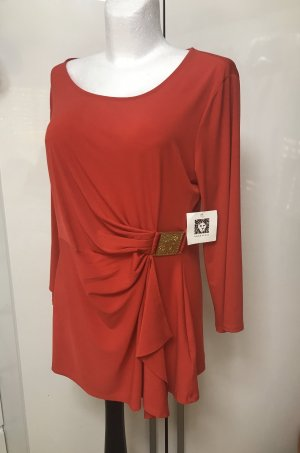 Anne Klein Basic Top red
