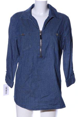 Anne Klein Jeansbluse blau Casual-Look