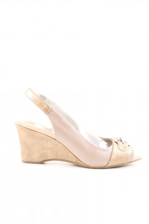 Anne Klein Wedge Pumps cream-pink casual look