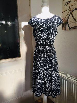 Anne Klein Kleid Punkte gepunktet Polka Dots