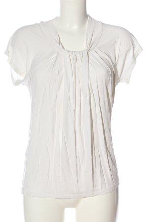 Anne Klein Blouse met korte mouwen wit zakelijke stijl