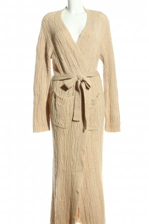 Anne Klein Knitted Coat cream casual look