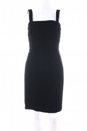 Anne Klein Pinafore dress black business style