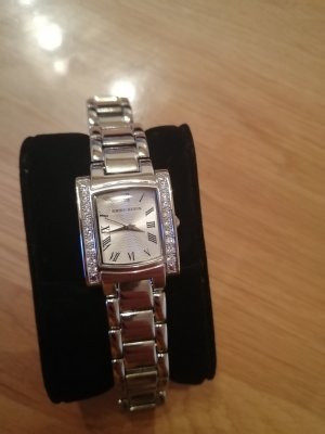 Anne Klein Watch With Metal Strap silver-colored