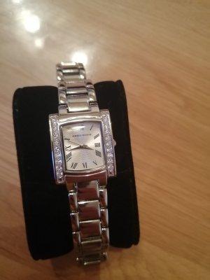 Anne Klein Horloge met metalen riempje zilver