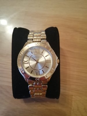 Anne Klein Watch With Metal Strap gold-colored