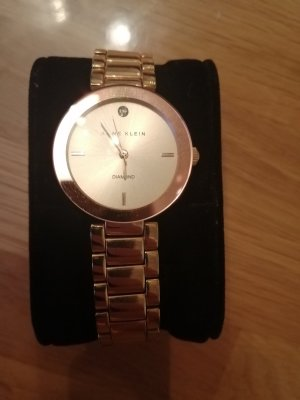 Anne Klein Horloge met metalen riempje roségoud