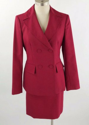 Anne Klein Ladies' Suit bordeaux-dark red
