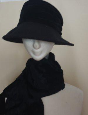 Anne L. Woolen Hat black-anthracite