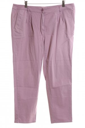 Anne L. Pleated Trousers pink casual look