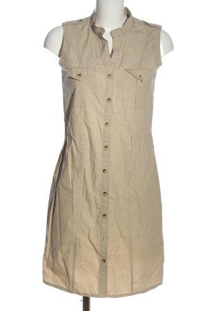 Anne L. Abito blusa camicia bianco sporco stile casual