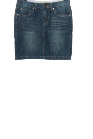 Anne L. Gonna di jeans blu stile casual