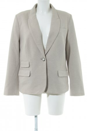 Anne L. Short Blazer light grey-brown business style