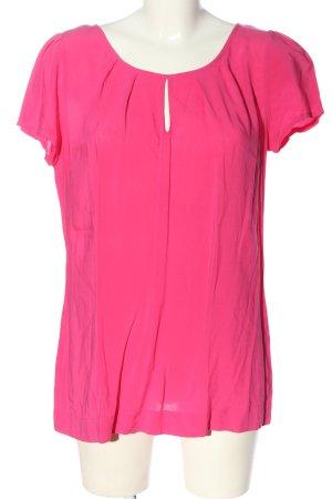 Anne L. Camicetta a maniche corte rosa stile casual