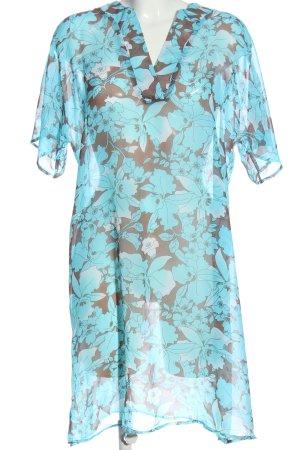 Anne L. Sukienka z krótkim rękawem Na całej powierzchni Elegancki