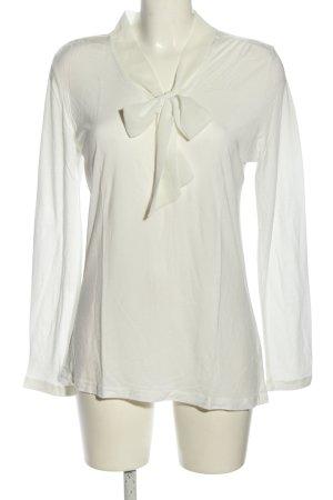 Anne L. Koszulka z długim rękawem biały W stylu biznesowym