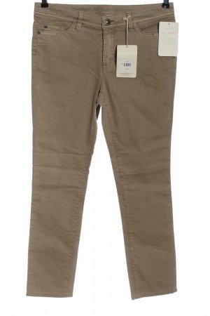 Anne L. Slim jeans bruin casual uitstraling