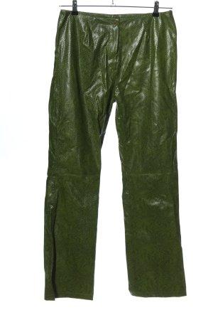 Anne L. Stoffhose grün Casual-Look