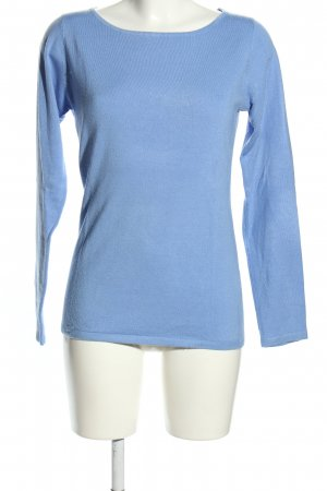 Anne L. Strickpullover blau Casual-Look