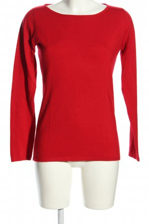 Anne L. Strickpullover rot Casual-Look