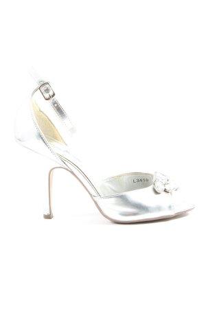 Anne Michelle High Heel Sandal silver-colored elegant