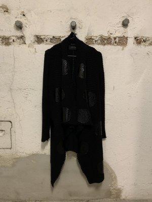 Anne Vest Cappotto stile pilota nero