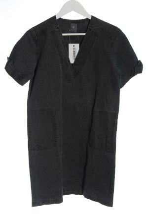 Anne Willi Robe en jean gris clair style décontracté