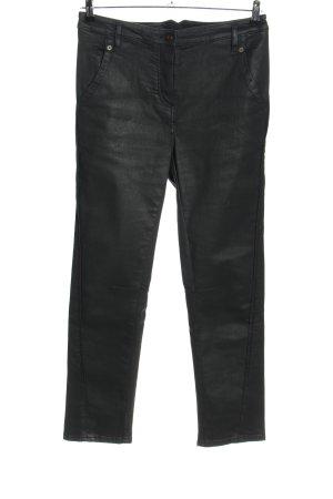 Annette Görtz Spodnie z wysokim stanem czarny W stylu casual