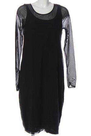 Annette Görtz Sukienka z długim rękawem czarny W stylu biznesowym