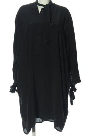 Annette Görtz Abito a maniche lunghe nero stile casual