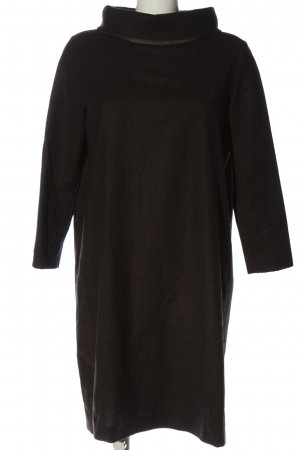 Annette Görtz Gebreide jurk bruin casual uitstraling