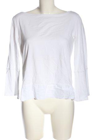 Annette Görtz Boothalsshirt wit casual uitstraling