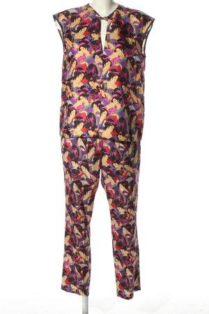 Anni Carlsson Tailleur-pantalon imprimé avec thème style décontracté