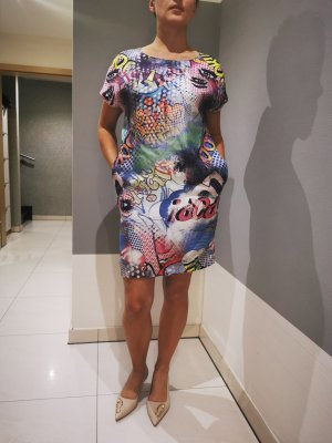 Anni Carlsson Midi-jurk korenblauw