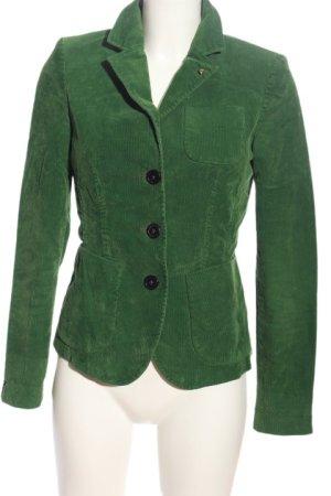 Anni Carlsson Korte blazer khaki casual uitstraling