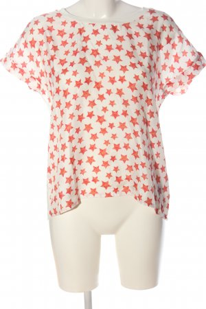 Anni Carlsson Slip-over blouse volledige print casual uitstraling