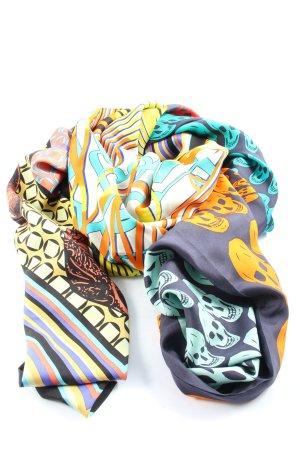 Anni Carlsson Châle au tricot motif abstrait style décontracté