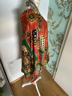 Anni Carlsson Zijden blouse veelkleurig Zijde