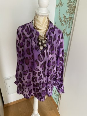 Anni Carlsson Zijden blouse veelkleurig