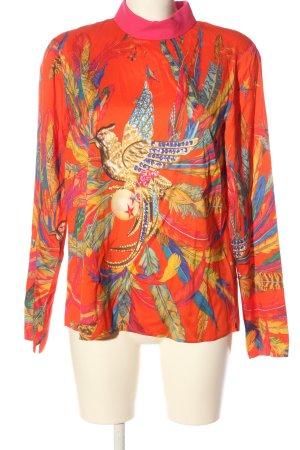Anni Carlsson Zijden blouse volledige print casual uitstraling