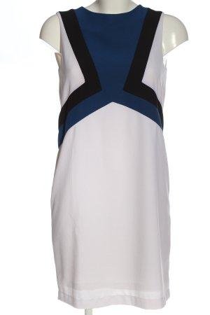 Annie P Minikleid weiß-blau Casual-Look