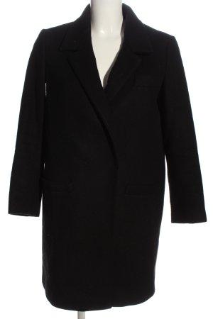 Annie P Manteau en laine noir style d'affaires