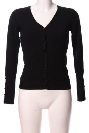 Anny fashion Cardigan black casual look