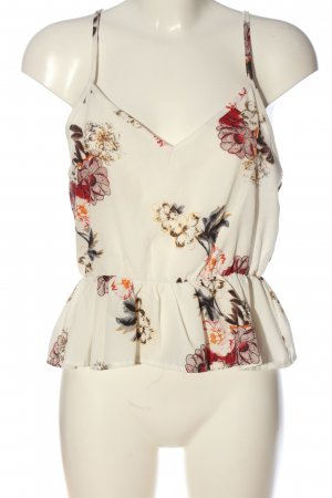 Anny fashion Strappy Top flower pattern casual look