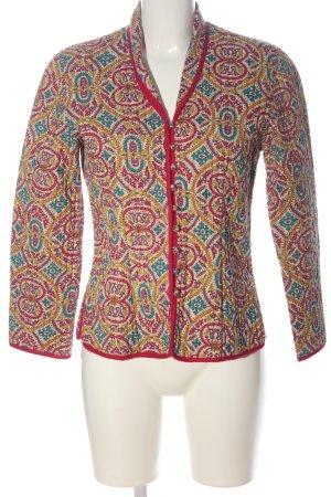 Anokhi Krótka kurtka Abstrakcyjny wzór W stylu casual