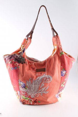 Anokhi Canvas Bag abstract pattern casual look