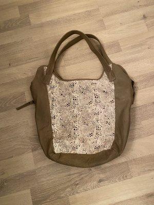 Anokhi Shoulder Bag ocher leather