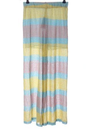 ANONYME Baggy broek gestreept patroon casual uitstraling