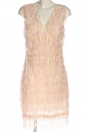 Anonyme Designers Fringed Dress pink elegant